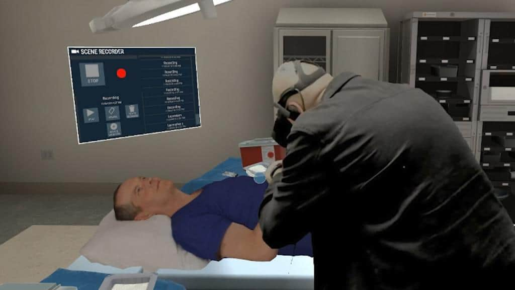 Oculus Rift and HTC Vive medical and healthcare training
