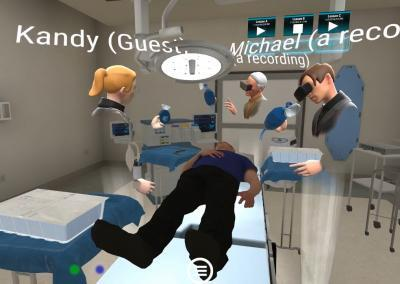 IPE training in VR