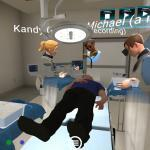 Operating room sim lab VR training for medical