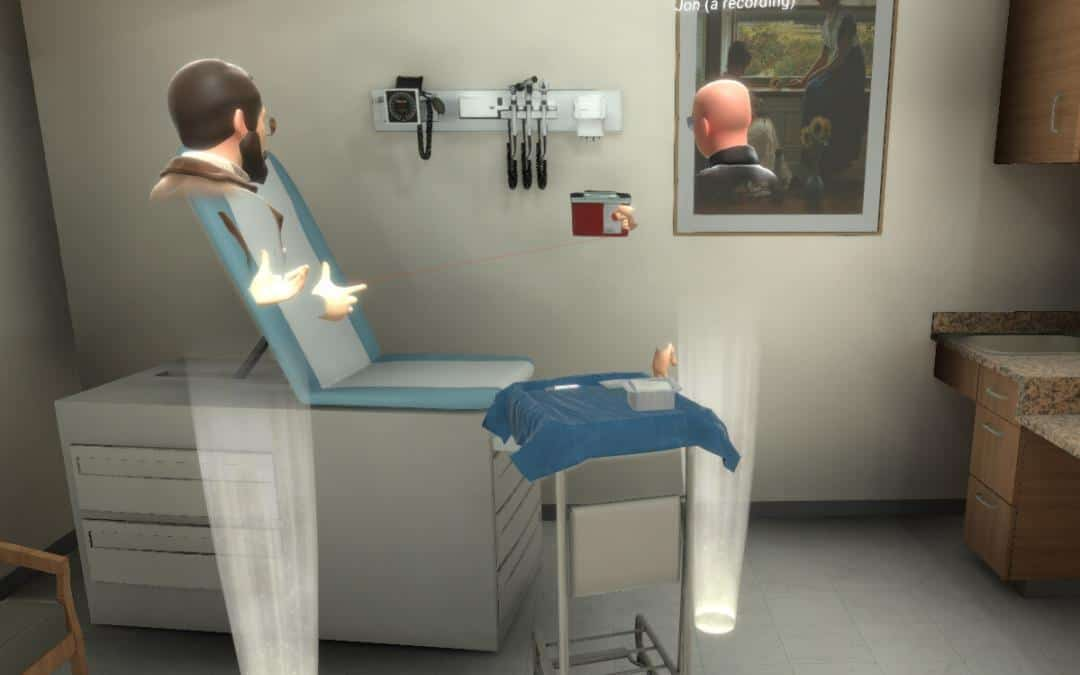 Clinical Scene Setup for Basic Procedure