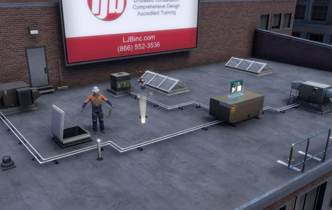 Fall Safety VR Training by LJB Inc.