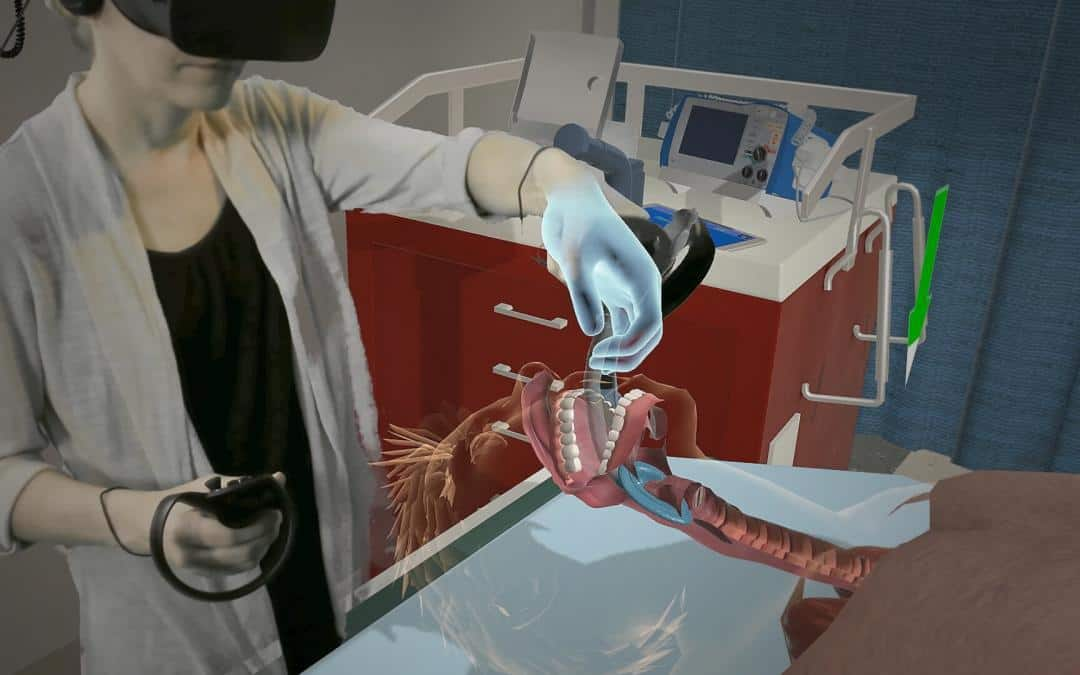 Teaching Airway Insertion Skills to Nursing Faculty and Students Using Virtual Reality: A Pilot Study
