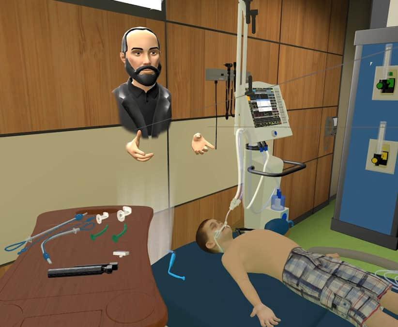 Post-Intubation Desaturation VR Training