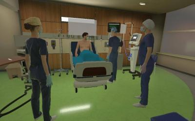 Become the Patient in VR: Ghost Mode Simulation Manager