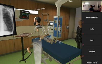 Virtual Medical Simulation: Status Asthmaticus