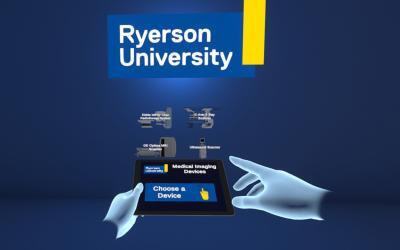 VR Medical Imaging and Treatment for Ryerson University